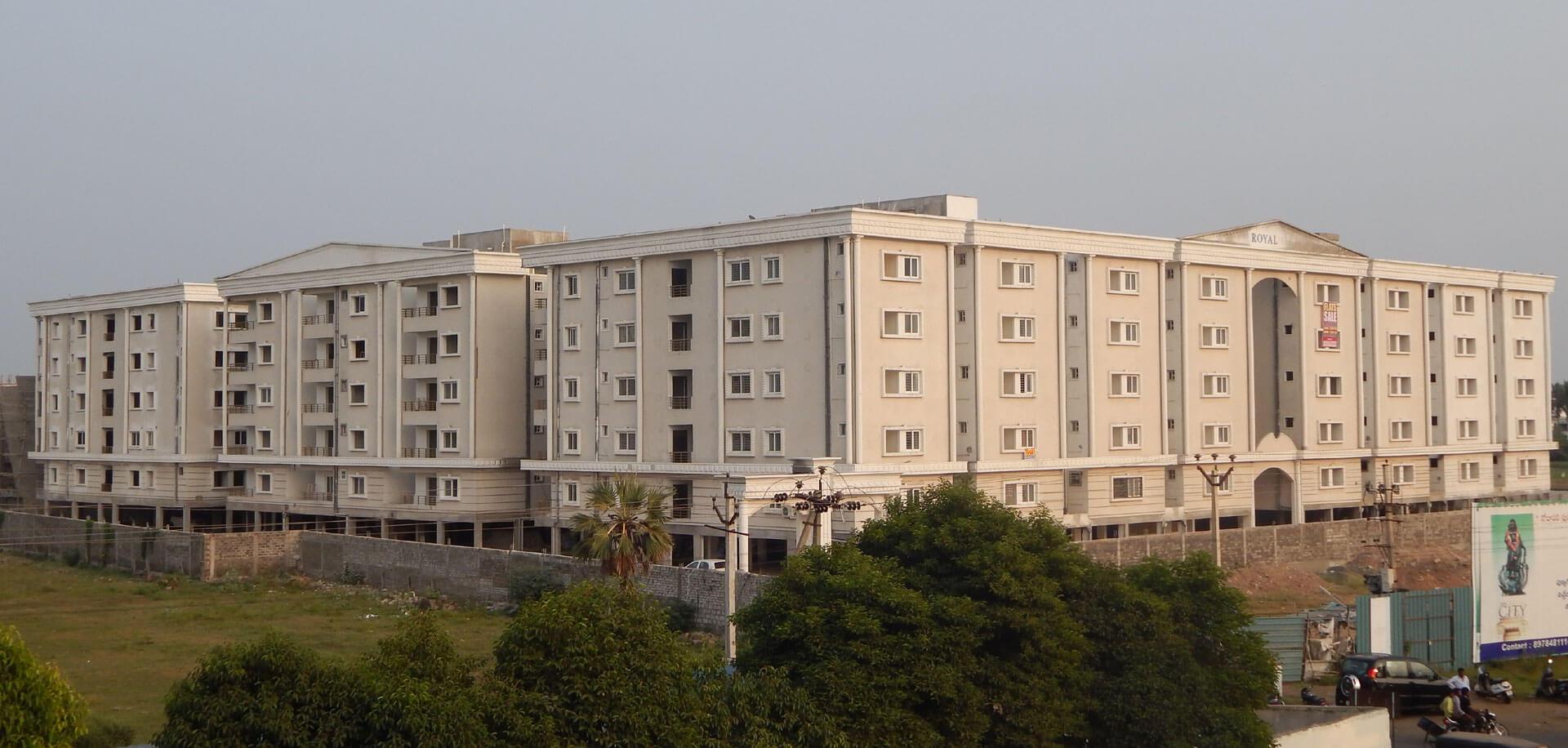 royal mindz 2bhk flats